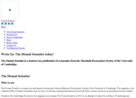 dismalscientist.org