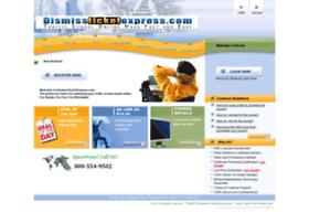 dismissticketexpress.com