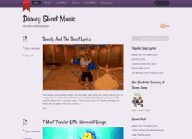 disney-sheet-music.com
