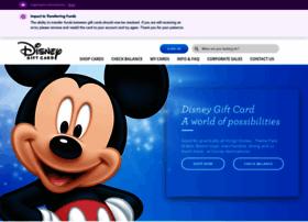 disneygiftcard.com