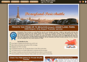 disneyland-parisshuttle.com