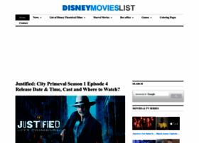 Disneymovieslist.com