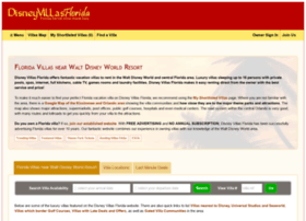 Disneyvillasflorida.com