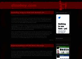 disobey.com