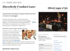 disorderlyconductlaws.com