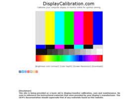 displaycalibration.com