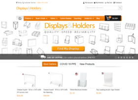 displaysandholders.com