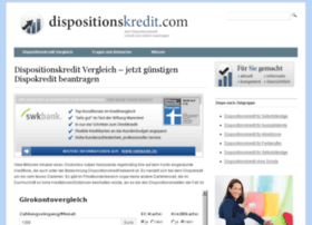 dispositionskredit.com
