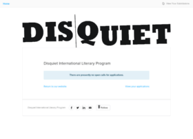 disquietinternational.submittable.com