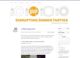 disruptingdinnerparties.com