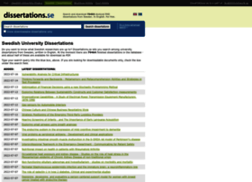 dissertations.se