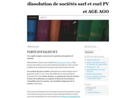 dissolutionsarl1pv.wordpress.com