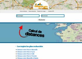 distanceentredeuxvilles.com