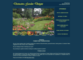 distinctivegardendesigns.com