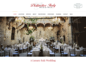 distinctiveitalyweddings.com