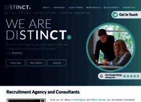 distinctrecruitment.com