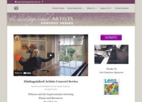 distinguishedartists.org