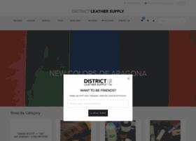 districtleathersupply.com