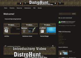 distrohunt.cupoflinux.com