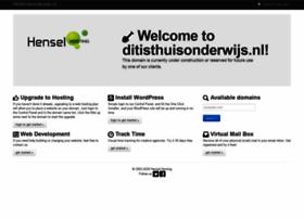 ditisthuisonderwijs.nl