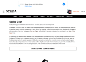dive-gear.scubadiving.com