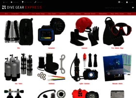Dive gear express websites and posts on Dive Gear Express