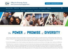diversity.gwu.edu