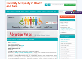 diversityhealthcare.imedpub.com