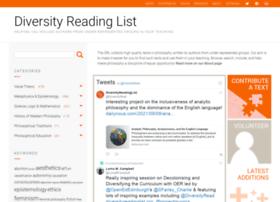 diversityreadinglist.org