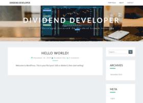 dividenddeveloper.com