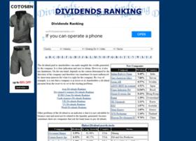 dividendsranking.com