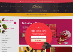 divinechocolate.com