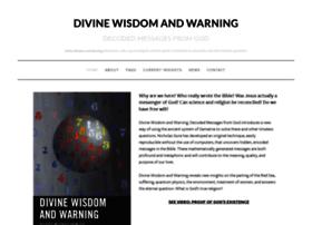 divinewisdomandwarning.com