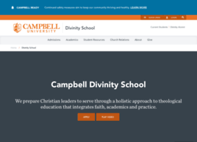 divinity.campbell.edu