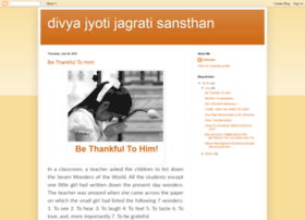 divyajyothjagratisansthani.blogspot.in