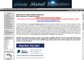 dixie-metal-detectors.com