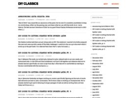 diyclassics.com