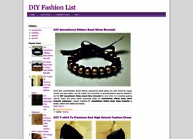 diyfashionlist.blogspot.com