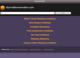 diyinvitationsensation.com