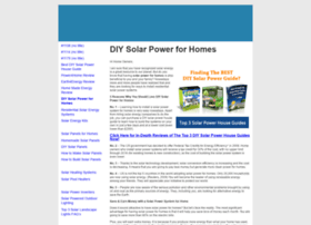 diysolarpowerforhomes.com