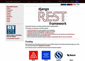 django-rest-framework.org