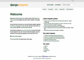djangosnippets.org