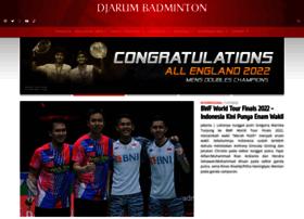 djarumbadminton.com