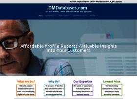 dmdatabases.com