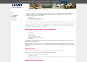dnd-fireprotection.com