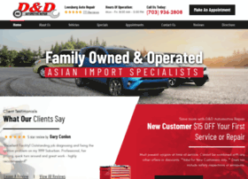 dndautomotiverepair.com