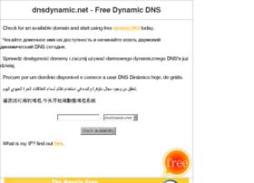 dnsdynamic.net