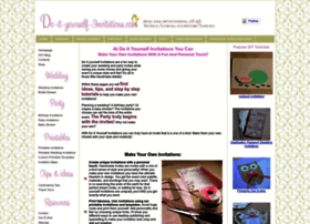 do-it-yourself-invitations.com