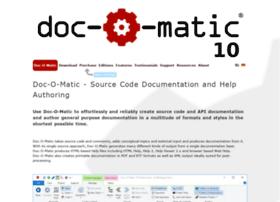 doc-o-matic.com