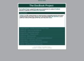 docbook.sf.net